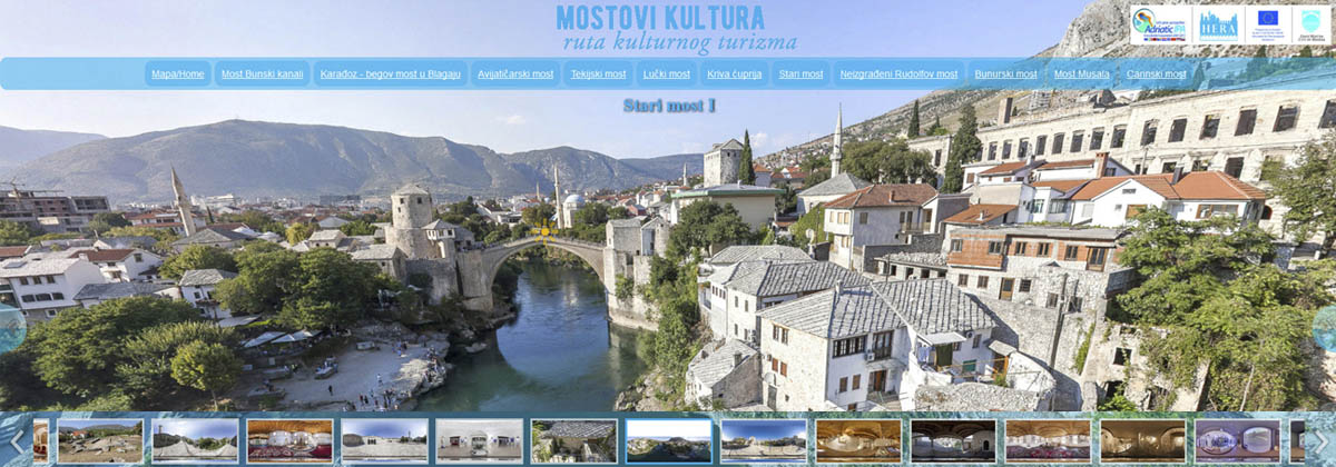mostovi kultura virtual tour mostar